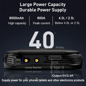 Power Bank Baseus CRJS01 8000mAh