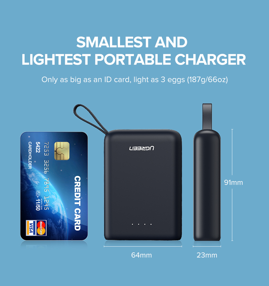Mini 10000 mAh Power Bank