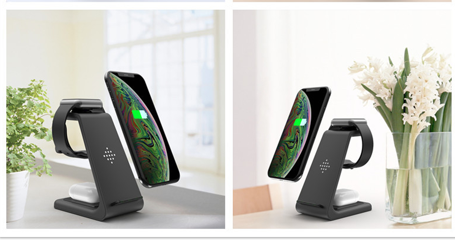 3 in 1 Fast Wireless Chargers for iPhone