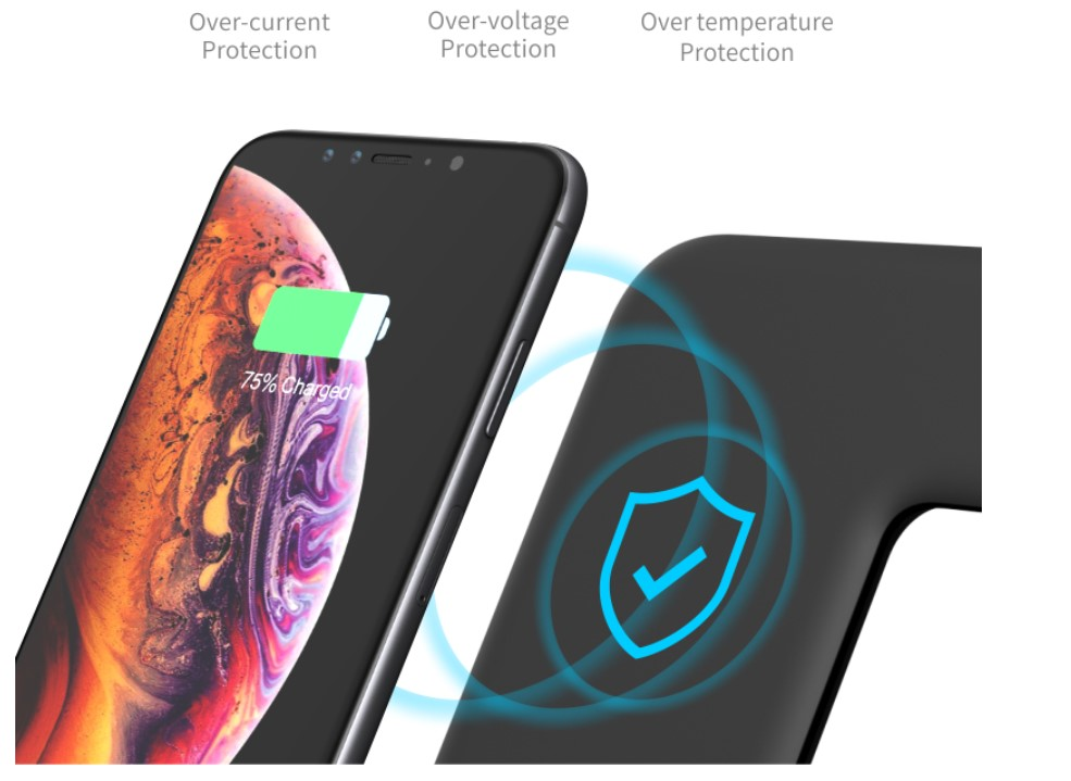 3 in 1 LED Wireless Charger for Apple Phone and Watch