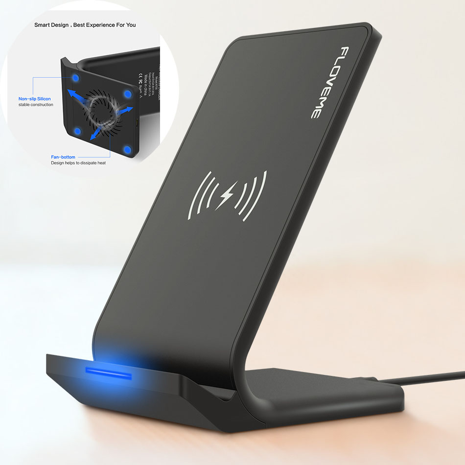 Universal Fast Wireless Phone Charger