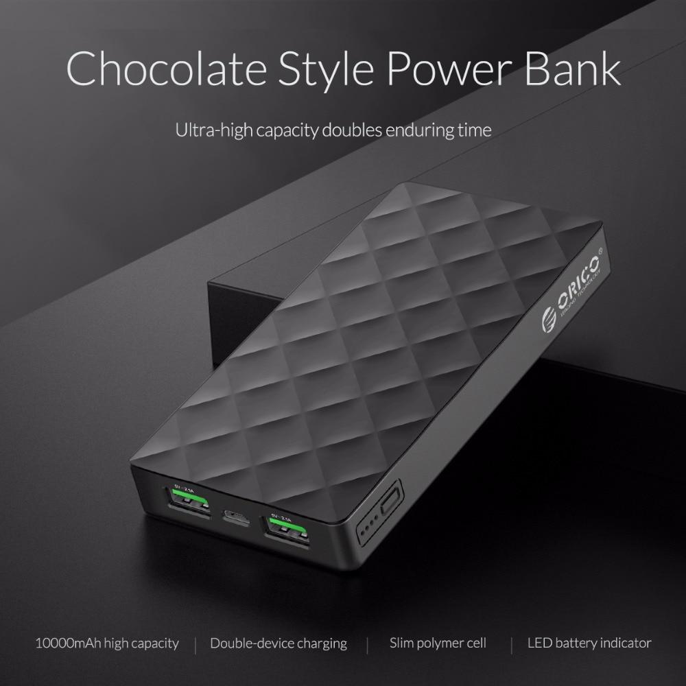 10000 mAh Chocolate Shape Design Power Bank